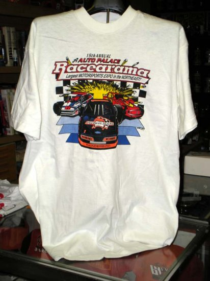 Racearama '95 Speedway Scene Auto Palace  XLarge Tshirt SH6070