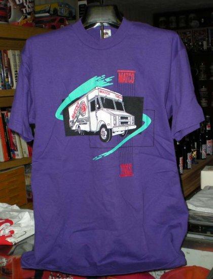 Matco Tools Purple Large Tshirt  SH6067