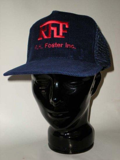 RHF RH Foster Inc Adjustable Cap Blue