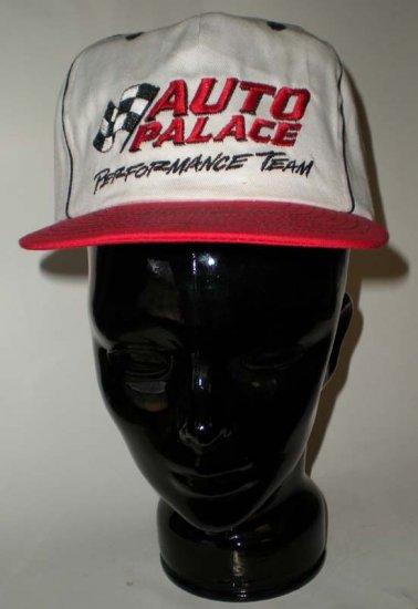 Auto Palace Performance Team White Adjustable Cap Hat