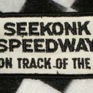 Seekonk Speedway  Action Track of the East Sew On Patch Motorsports NASCAR