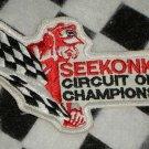 Seekonk Circuit of Champions Sew On Patch Motorsports NASCAR