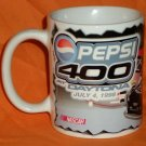 Pepsi 400 Daytona Speedway Mug NASCAR Auto Racing