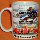 40th Annual Daytona 500 Daytona Speedway Mug NASCAR Auto Racing