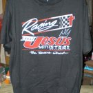 Racing With Jesus XL Tshirt NASCAR Auto Racing SH6112