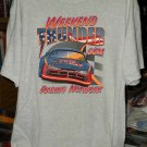 Weekend Thunder Racing Network XLarge Tshirt Auto Racing SH6510