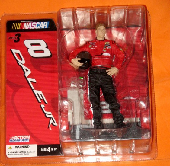 Dale Earnhardt Jr 8 Series 3 Mcfarlane Action Figure Nascar