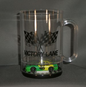Cole Trickle #46 City Chevy Victory Lane Acrylic Mug Diecast NASCAR Auto Racing