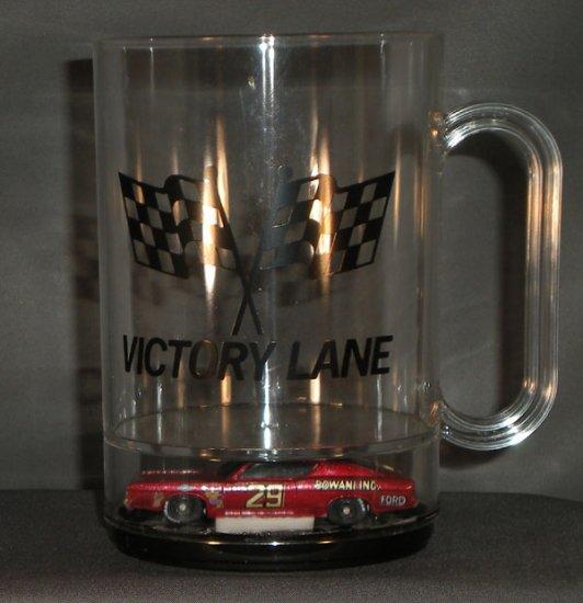 Bud Moore #29 Bowani Inc Ford Victory Lane Acrylic Mug Diecast NASCAR Auto Racing