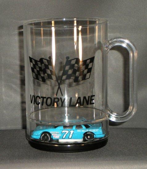 Dave Marcis #71 Big Apple Market Victory Lane Mug Diecast NASCAR Auto Racing