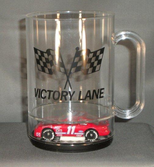 Bill Elliott #11 Victory Lane Acrylic Mug Diecast NASCAR Auto Racing