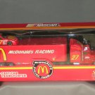Junior Johnson McDonald's Racing #27 Racing Champions Transporter 1:64 Die Cast NASCAR