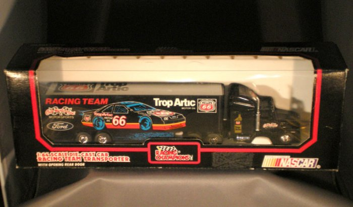 Cale Yarborough Motorsports #66 TropArtic Transporter Racing Champions 1:64 Die Cast NASCAR