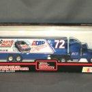 Ken Bouchard #72 Auto Palace ADAP Mobil 1 Transporter Racing Champions 1:64 Die Cast NASCAR