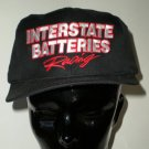 Black Interstate Batteries Racing Adjustable Cap Hat Motorsports NASCAR