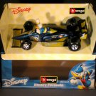 Bburago Disney Donald Duck 1:24 Diecast F1 Race Car