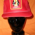 Red J & J Racing Savannah NY  Adjustable Hat Cap Motorsports Auto Racing
