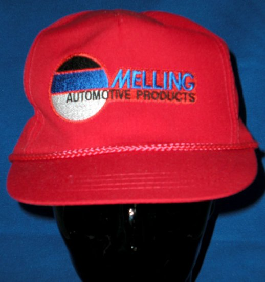 Red Melling Automotive Products Adjustable Cap