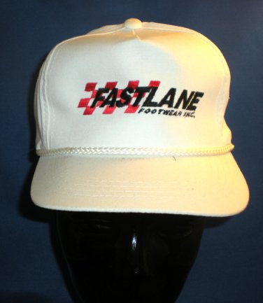Fastlane Footwear Inc Adjustable Hat Cap Auto Racing Motorsports