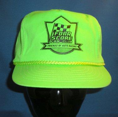 FOAR Score Fan Club Adjustable Hat Cap Auto Racing Motorsports