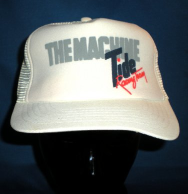 The Machine Tide Racing Team Adjustable Cap Hat NASCAR Motorsports
