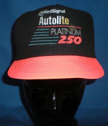 Allied Signal Autolite Platinum 250 Adjustable Hat NASCAR Motorsports