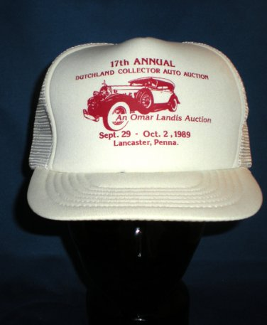 17th Annual Dutchland Collector Auto Auction Adjustable Hat