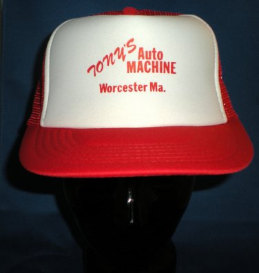 Tony's Auto Machine Worcester MA Adjustable Hat