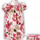 Funky Floral Girls Bishop Dress Size 24m