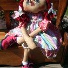 Sweet Pigtail Annie PAPER PATTERN #102