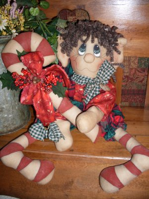 Eddy the Raggedy Elf PAPER PATTERN #106