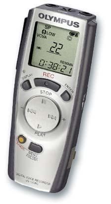 Olympus VN-120PC Digital Voice Recorder with PC Interface (Refurbished)