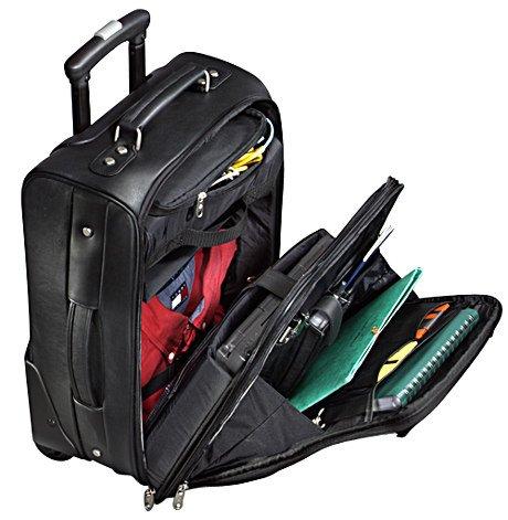Samsonite Leather Mobile Office Case