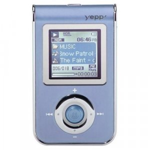 Samsung YP-T7JX 512mb mp3 player with recorder, fm tuner & photo storage!