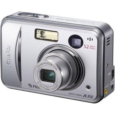 Fuji A350 5.2mp digital camera w/3x optical zoom