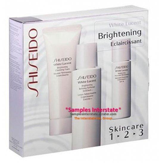 Shiseido White Lucent Brightening Eclaircissant 1 2 3 Starter Kit