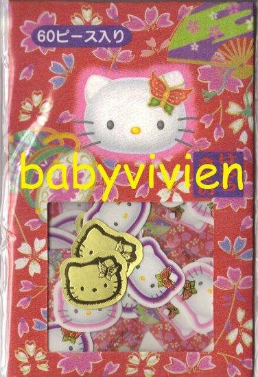 Sanrio 2000 Hello Kitty Sakura Sack O Stickers