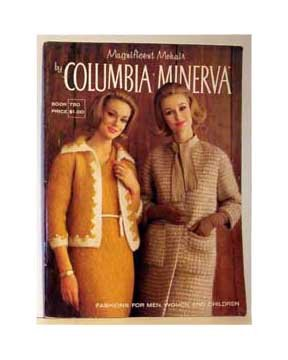 To knit Magnificent Mohair - Book 750 - Columbia Minerva