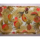 Vintage Serving Tray with Tropical Theme