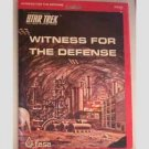 Witness for the Defense - Star Trek the role playing game