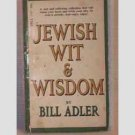 Jewish Wit and Wisdom - Dill Adler