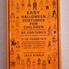 Easy Halloween Costumes For Children by Leila Albala