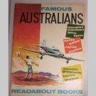 Famous Australians - Readabout Book by Faith Linton - 1964