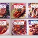 6 Popular Brands Cookbooks - 1997