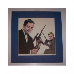 Man From U.N.C.L.E. original artwork