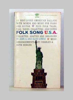 Folk Song U.S.A. by John A. Lomax and Alan Lomax
