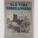 Old Time Songs & Poems - Big Book Number Two