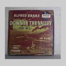Down In The Valley - 45 rpm records - Alfred Drake & Jane Wilson