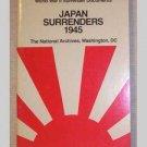 Japan Surrenders 1945 - National Archive booklet