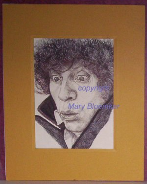 Doctor Who original artwork by Mary Bloemker